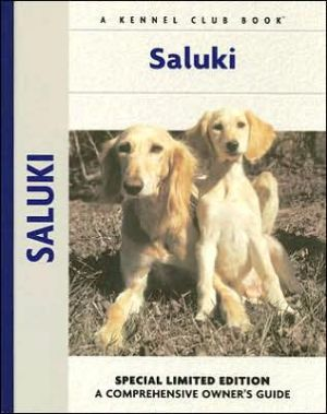Saluki book written by Ann Chamberlain