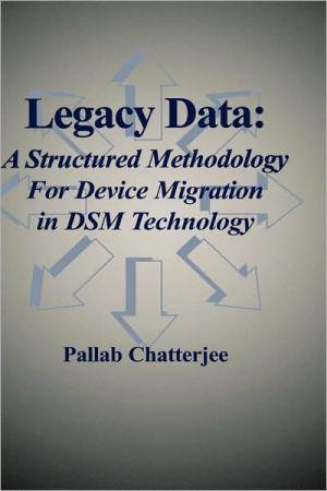 Legacy Data book written by Pallab Chatterjee