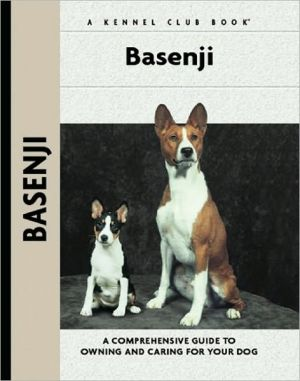 Basenji (Comprehensive Owners Guides Series) book written by Juliette Cunliffe
