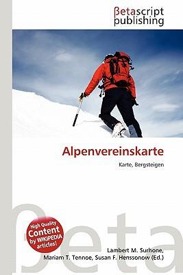 Alpenvereinskarte written by Lambert M. Surhone