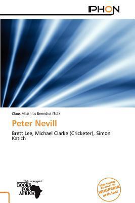 Peter Nevill written by Claus Matthias Benedict
