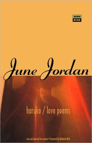 Haruko/Love Poems book written by June Jordan