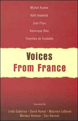 Voices from France book written by Maureen LaBonte