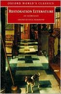 Restoration Literature: An Anthology written by Paul Hammond