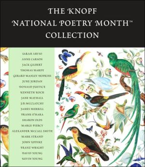 The Knopf National Poetry Month Collection book written by Various