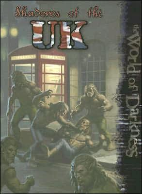 Shadows of the UK book written by White Wolf Publishing