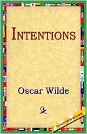 Intentions book written by Oscar Wilde