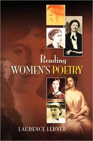 Reading Women's Poetry book written by Laurence Lerner