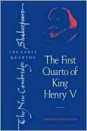 First Quarto of King Henry V book written by William Shakespeare
