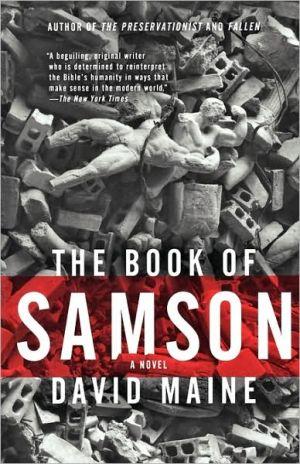 Book of Samson book written by David Maine