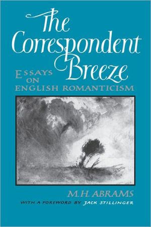 The Correspondent Breeze book written by M. H. Abrams