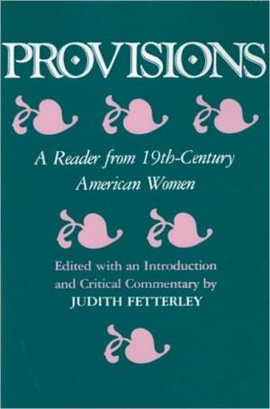 Provisions book written by Judith Fetterley