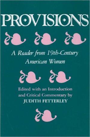Provisions written by Judith Fetterley