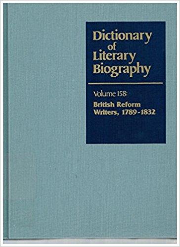 British Reform Writers, 1789-1832 book written by Gary Kelly