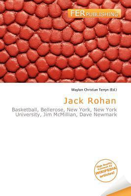 Jack Rohan written by Waylon Christian Terryn