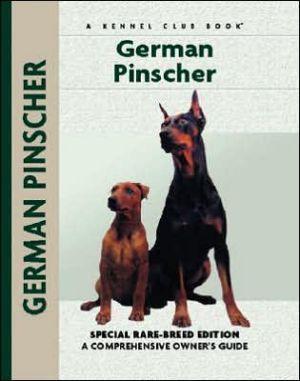 German Pinscher book written by Sharon Morgan