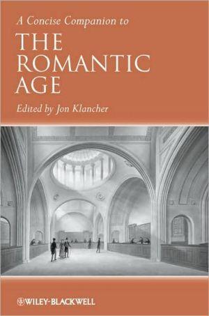 The Romantic Age book written by Jon Klancher