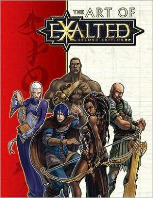 Exalted Art BK book written by White Wolf