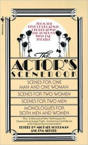 The Actor's Scenebook: Scenes and Monologues from Contemporary Plays book written by Michael Schulman