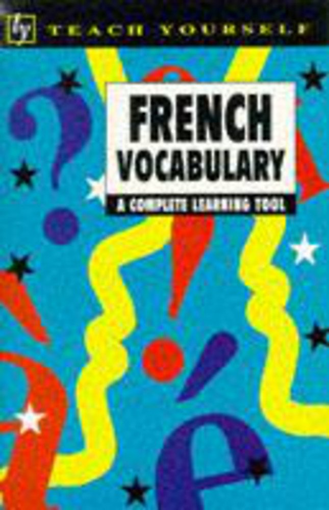 French vocabulary written by Nelly Moysan