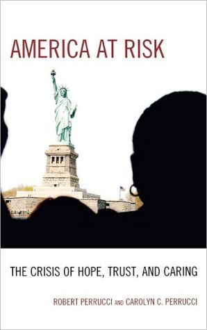 America at Risk: The Crisis of Hope, Trust, and Caring book written by Robert Perrucci