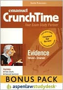 CrunchTime: Evidence (Print + eBook Digital Download Bonus Pack) book written by Steven Emanuel