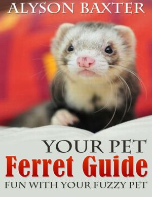 Your Pet Ferret Guide - Fun With Your Fuzzy Pet written by Alyson Baxter