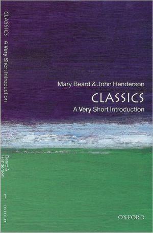 Classics book written by Mary Beard