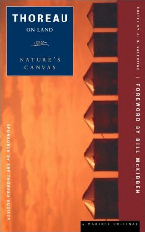 Thoreau on Land: Nature's Canvas book written by Henry David Thoreau