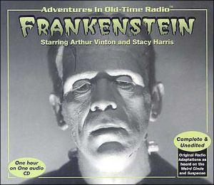 Frankenstein book written by Radio Spirits