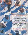 Introduction to Social Science and Contemporary Issues book written by Wesley M. Bagby