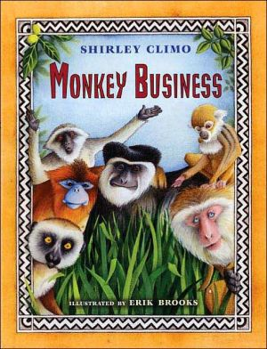 Monkey Business book written by Shirley Climo