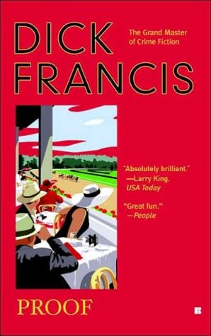 Proof book written by Dick Francis