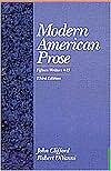 Modern American Prose: Fifteen Writers + 15 written by John Clifford