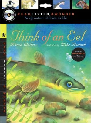 Think of an Eel with Audio, Peggable: Read, Listen & Wonder written by Mike Bostock
