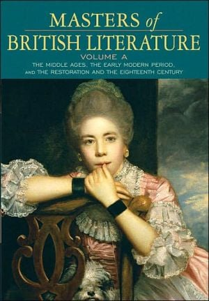 Masters of British Literature, Volume A (Penguin Academics Series) book written by David Damrosch
