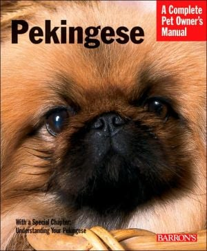 Pekingese book written by D. Caroline Coile Ph.D.