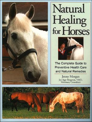 Natural Healing for Horses : The Complete Guide to Preventive Health Care and Natural Remedies book written by Jenny Morgan, Jan Agar Bergeron