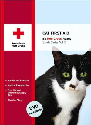 Cat First Aid book written by American Red Cross Staff