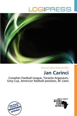 Jan Carinci written by Terrence James Victorino