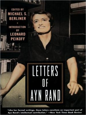 Letters of Ayn Rand book written by Ayn Rand
