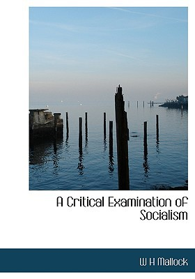 A Critical Examination of Socialism book written by Mallock, W. H.