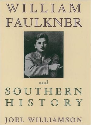 William Faulkner+southern History book written by Williamson