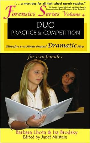 35 Original Dramatic Plays for Two Females (Forensics Duo Series), Vol. 4 book written by Ira Brodsky