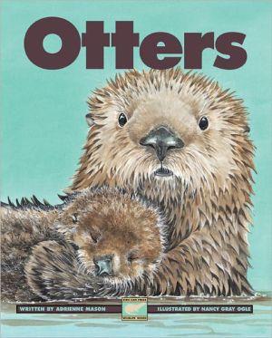 Otters book written by Adrienne Mason