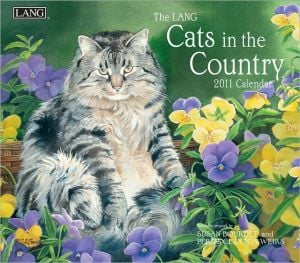 2011 Cats In The Country Wall book written by Lang Holdings Inc.