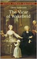 The Vicar of Wakefield book written by Oliver Goldsmith