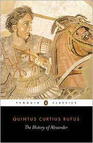 The History of Alexander book written by Quintus Curtius Rufus