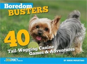 Boredom Busters for Dogs: 40 Tail-Wagging Games and Adventures book written by Nikki Moustaki