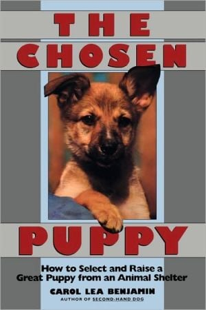 Chosen Puppy: How to Select and Raise a Great Puppy from an Animal Shelter book written by Carol Lea Benjamin